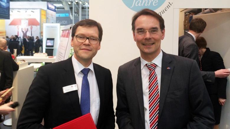 Rolf Sahre (MACH AG) und Ingbert Liebing